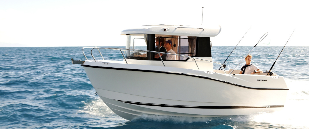 Komplettangebot Quicksilver Captur 605 Pilothouse